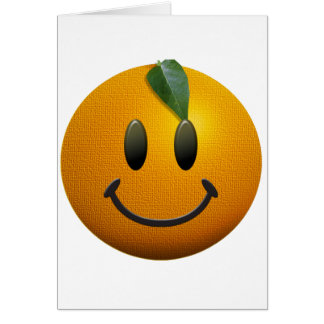 Happy Smiley Face Greeting Card
