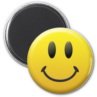 Happy Smiley Face Magnet