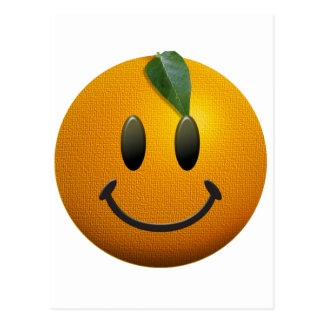 Happy Smiley Face Post Card