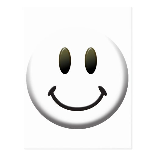Happy Smiley Face Post Cards
