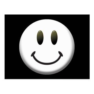 Happy Smiley Face Postcard