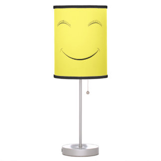 Happy smiley table lamp