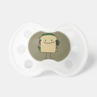 Happy Smiling Sandwich - Classic Baby Pacifiers