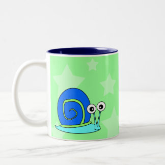 Happy Snail Coffee Mug