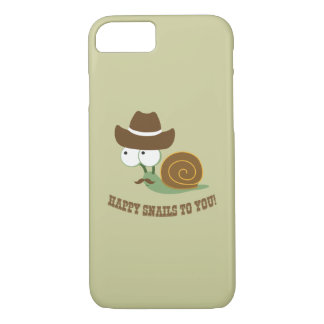 Happy Snails To You! iPhone 7 Case