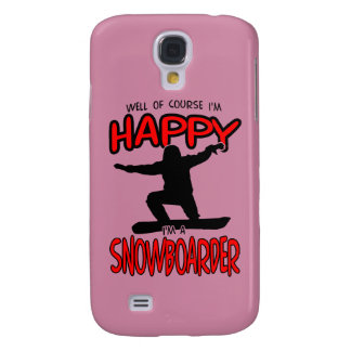 Happy SNOWBOARDER (Black)