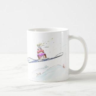 Happy Snowboarding Birthday Coffee Mug