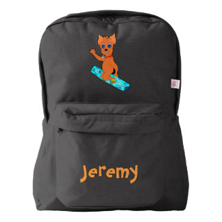 Happy Snowboarding by The Happy Juul Company Backpack