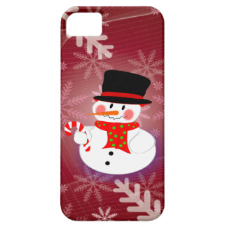 Happy Snowman Case For The iPhone 5