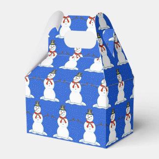 Happy Snowman Christmas Gift Box
