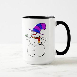 Happy Snowman Mug