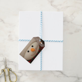 Happy Snowman Tags