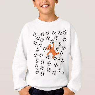 Happy Soccer by The Happy Juul Company Sweatshirt