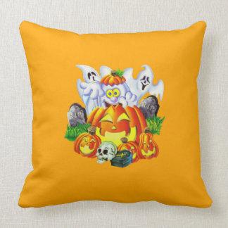 Happy Spooky Halloween Throw Pillow