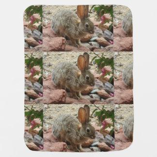 Happy Spring Baby Bunny Blanket