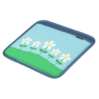 Happy Spring Daisies iPad Sleeve