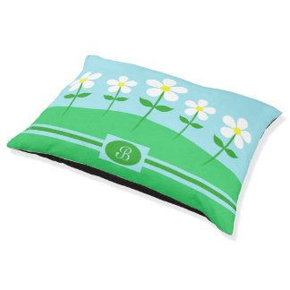 Happy Spring Daisies Pet Bed