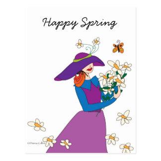 Happy Spring Postcard
