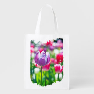 Happy Spring reusable tote