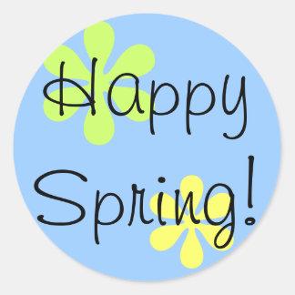 Happy Spring! Round Sticker