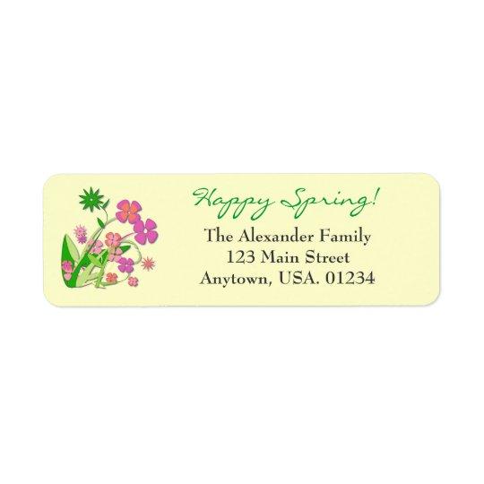 Happy Spring Spring Flowers