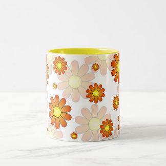 Happy Springtime Flower Mug