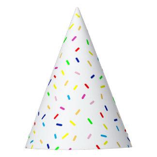 happy sprinkles party hat