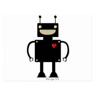 Happy Square Robot 1 Postcards