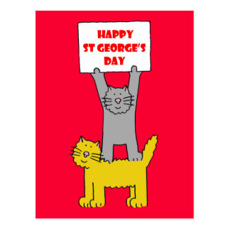 Happy St George's Day Postcard