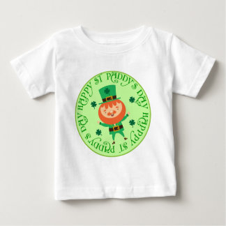 Happy St Paddys Day Leprechaun Baby Tee