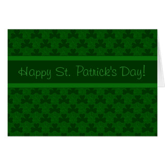 Happy St Patrick s Day Greeting Card