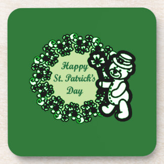 Happy St Patrick s Day Coaster