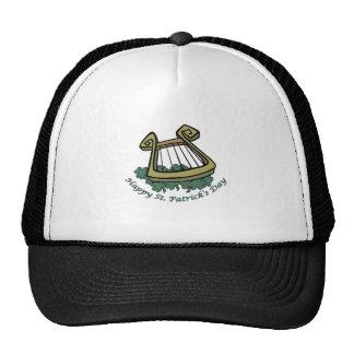Happy St Patrick s Day Harp Hat