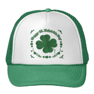 Happy St Patrick s Day Mesh Hats