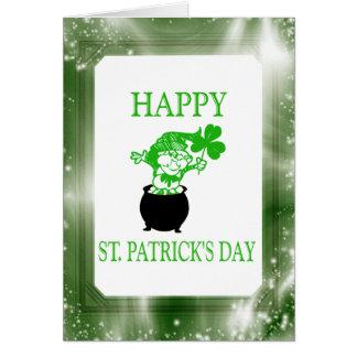 Happy St Patrick s Day Irish Leprechaun Cards