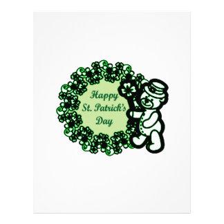 Happy St Patrick s Day Letterhead