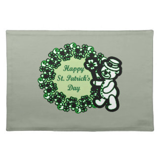 Happy St Patrick s Day Placemat
