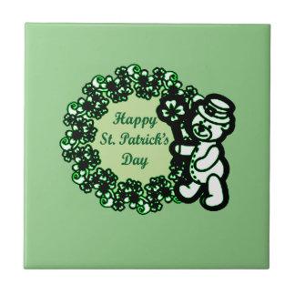 Happy St Patrick s Day Tile