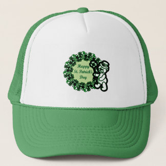 Happy St Patrick s Day Trucker Hat