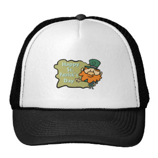 Happy St Patrick s Leprechaun Hat