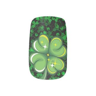 Happy St. Patrick's Day 1 Options Minx Nail Art