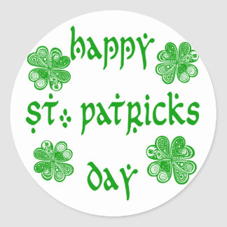 Happy St. Patricks Day /1 Round Sticker