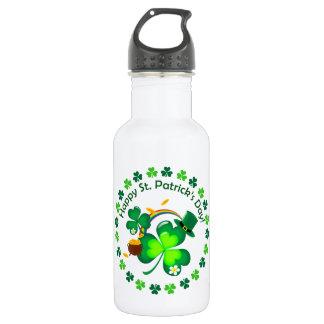 Happy St. Patrick's Day 532 Ml Water Bottle