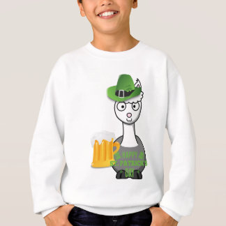 happy st patricks day alpaca sweatshirt