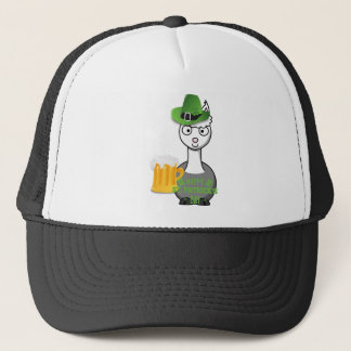 happy st patricks day alpaca trucker hat