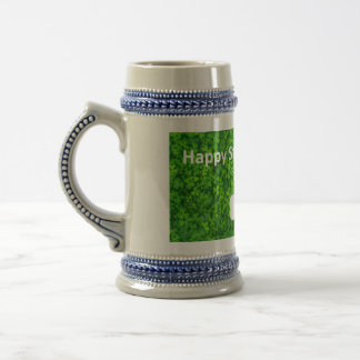 Happy St Patrick's Day Beer Stein