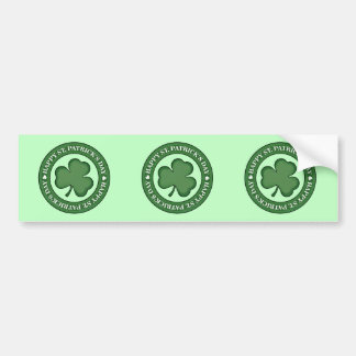 Happy St. Patricks Day Bumper Sticker