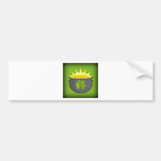 Happy St. Patrick's Day! Bumper Sticker