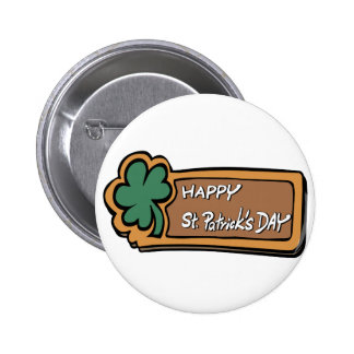 Happy St Patricks Day Buttons