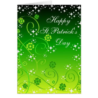 Happy St.Patrick's Day - Card